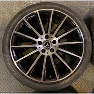 賓士W205 C450 19吋夜色版前後配鋁圈含胎一套