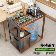 客廳喝茶桌茶盤移動茶具茶車小茶几帶輪茶几茶桌推車角桌茶臺陽臺