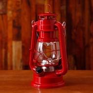 中型復古LED電池式露營燈BOL001-RD - 紅色