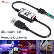✪Smart Switch✪ Wireless 5-24V RGB LED Strip Light Controller USB Cable Bluetooth 4.0 Acew