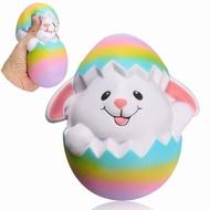 SquishyShop Rabbit Breaking Egg Jumbo Squishy 18cm Soft Slow Rising Collection Gift Decor Toy