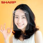 【SHARP夏普】奈米蛾眼科技防護面罩 1入組