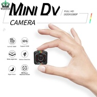 Wintin Mini Hidden Camera Portable Small HD Nanny Cam 1080P/720P & Motion Detection &Night Vision Perfect Indoor Covert Security Camera for Car Drone Office Cctv Camera