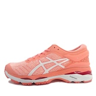 【asics 亞瑟士】Asics GEL-Kayano 24    女鞋 運動 慢跑 健走 休閒 緩震 輕量 亞瑟士 粉紅(T799N-1701)