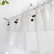 langsir dapur 【NEW ARRIVAL】 Kitchen curtains 【Ready Stock】 Langsir dapur langsir Tirai pintu dapur, bebas berlubang, tirai partisi rumah tangga, langsir, separuh langsir, langsir kecil, langsir kabinet, rak buku, tahan debu dan tahan debu