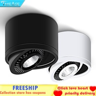 LED COB Downlight 7W/10W/12W/15W LED Lamp Ceiling Spot Light with LED Driver White/Warm White