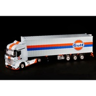 Mini GT 1/64 Actros Gulf With 40FT Container Gulf #213 USA Exclusive