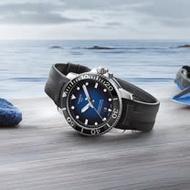 TISSOT 天梭 Seastar 1000 海洋之星300米潛水機械錶-藍x黑/43mm T1204071704100