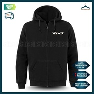 Tech3 Yamaha Sulam Zip Hoodie KTM MotoGP Motorcycle Motosikal Superbike Racing Team Bike Casual Y125Z LC135 RXZ TZM Y15