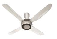 KDK R56SV Silver 140cm Ceiling Fan with 4 Blades