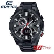 ส่งฟรี !! Casio Edifice นาฬิกาข้อมือผู้ชาย สายสแตนเลส รุ่น ERA-201BK-1AVDF - สีดำ
