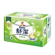 舒潔棉柔舒適抽取衛生紙90抽(8包x8串) / 箱
