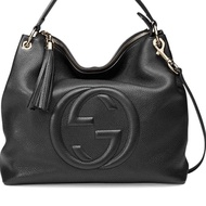 Gucci Soho Large Tote Bag 雙G logo 流蘇包