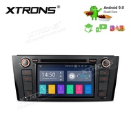 2019 Newest! XTRONS Android 9.0 Car Stereo GPS Navigator Auto Radio DVD Player Single 1 DIN Head Unit with 7 Inch Touch Display USB SD Port Full RCA Output Bluetooth 5.0 Supports OBD TPMS DAB 4G WiFi Fit For BMW E81 E82 E88