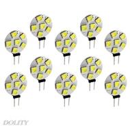 通用10X白G4-5050-6SMD LED燈泡大功率超亮汽車燈