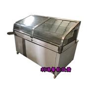 《利通餐飲設備》6尺 滷味展示冰箱 魯味展示冰箱 冷藏展示冰箱 海產展示台