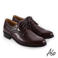 【A.S.O 阿瘦集團】菁英通勤  舒適耐穿真皮鞋(咖啡)