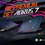 技嘉 AORUS 7 SA 17.3吋窄邊框電競筆電