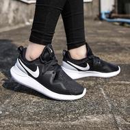 Nike Tessen Free 黑白色 輕量化 慢跑 運動 女鞋 多功能 平價 簡約網面 AA2172-001