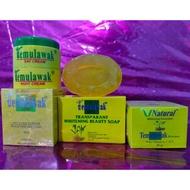 ❤️temulawak_original❤️ 100% Original Temulawak Package (day and night cream, whitening soap, sunscreen)