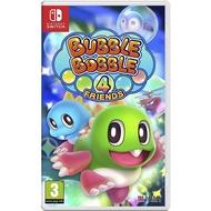 全新未拆【葉八】SWITCH 歐版 泡泡龍 4 伙伴 Bubble Bobble 4 Friends