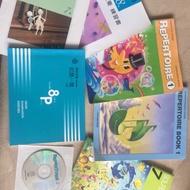 Yamaha 兒童班  音樂課本。repertoire book1*2和s7