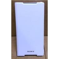 原廠SONY XPERIA Z2 側翻式站立時尚皮套-白