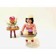 Playmobil 摩比 人偶包 女生15代 70026 甜點女孩