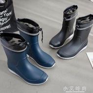 雨鞋男士中筒防滑防水鞋時尚膠鞋水靴套鞋洗車釣魚鞋男雨靴