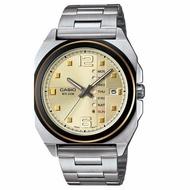 โปรโมชั่น Casio Standard นาฬิกาข้อมือผู้ชาย สายสแตนเลส รุ่น MTF-117BD-9AVDF ราคาถูก นาฬิกาผู้ชาย นาฬิกาผู้ชายกันน้ำ นาฬิกาผู้ชายแท้ นาฬิกาผู้ชายcasio แท้