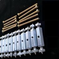 牆壁插座暗盒開關插座配線盒接線盒斷耳修補螺絲- 斷耳固定柱,斷耳修補片,斷耳救星,斷耳固定器