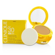 Clinique 倩碧 Sun SPF 30 Mineral Powder Makeup For Face 粉餅- Medium  9.5g/0.33oz