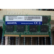 筆電用 DDR3 8G 12800 ADATA Kingston SK 每隻1380元