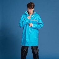 【OutPerform雨衣】頂峰 全方位太空背包雨衣-短版-單上衣+單褲(機車雨衣、戶外雨衣)