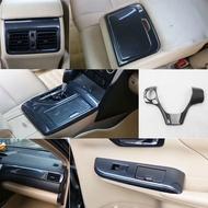 豐田7代CAMRY 碳纖紋內飾 電動窗開關面板 排檔飾板 方向盤飾片 12-17 CAMRY 前後出風口飾片