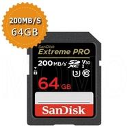 【SanDisk 晟碟】Extreme Pro SDXC V30 64GB 170MB/s記憶卡(平行輸入)