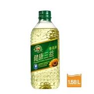 【得意的一天】健康三益葵花油1.58L/瓶