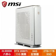 微星 MSI Prestige P100 9SF-024TW繪圖設計電腦/i9-9900K/RTX2080TI 11G/64G/4TB+1TB SSD/WiFi/Win10pro/10L★新款上市