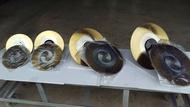 不鏽鋼白鐵304切割專用鍍鈦鋸片6孔歐洲進口金工圓鋸機切割機鍍鈦白鐵切割鋸片專業用HSS315*2.5*32 Z200