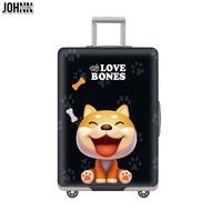Johnn อุปกรณ์ป้องกันกระเป๋า 19-21-22-24-26-28-30-32 กระเป๋าเดินทางผ้ายืดกระเป๋าเดินทางกรณีกระเป๋าลากถุงครอบกันฝุ่นหนาทนต่อการสึกหรอ [คลังสินค้าพร้อม-คุณภาพสูง]
