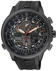 นาฬิกาข้อมือ CITIZEN Promaster Eco-Drive นาฬิกาวิทยุ Chronograph เฉพาะ Store การจัดการรุ่น JY8035-04E ผู้ชายสีดำ