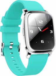 """Bluetooth V5.0 Smart Watch Gps Track Heart Rate Blood Pressure 1.3"""" - Green"""