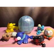 [扭蛋]寶可夢睡覺扭蛋 球球海獅