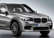 BMW Performance 黑色 水箱護罩 For E84 X1