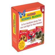 Asia Books หนังสือภาษาอังกฤษ GUIDED SCIENCE READERS PARENT PACK: LEVEL A (16 BOOKS) Free Shipping