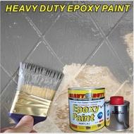 epoxy floor paint TILES FLOOR & WALL EPOXY PAINT ( HEAVY DUTY BRAND )  EPOXY WATERPROOF FLOOR / CAT LANTAI CEMINT & MOSI