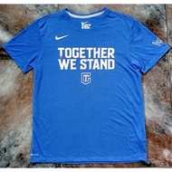 NIKE CHINESE TAIPEI TOGETHER WE STAND 藍 T