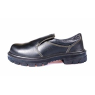 KPR Safety Shoes Black k-807 (low cut slip on) *FREE SHIPPING BY QXPRESS*