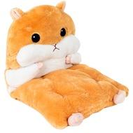 超萌倉鼠抱枕坐墊 宜家寶 抱枕 暖手枕 可愛倉鼠坐 坐墊【M005】