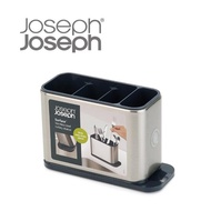 【Joseph Joseph】不鏽鋼餐具瀝水收納架